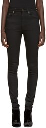Saint Laurent Black High Rise Jeans