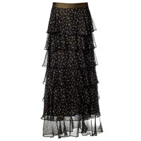 Supersweet X Moumi Is A Genie Skirt Black Gold Brown