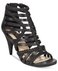 Inc International Concepts Geenia Sandals Only At Macy's Women's Shoes Black