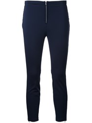 3.1 Phillip Lim Cropped Leggings Blue