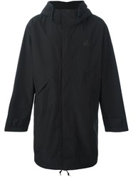 Paul Smith Ps By Three Layer Rain Parka Black
