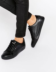 Tommy Hilfiger Denim Luciana Sequin Trainers Black