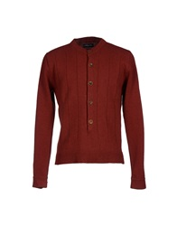 Commune De Paris 1871 Cardigans Brick Red