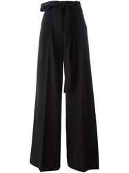 Milly Wide Leg Trousers Black