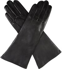 Dents Leather Cashmere Lined Gloves Black