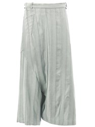 Masnada Striped Culottes Grey