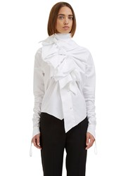 Aganovich Triple Knot Shirt White