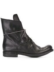 A Diciannoveventitre Lace Up Boots Black