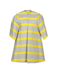 Stella Jean Coats Yellow