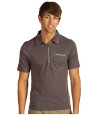 Outdoor Research Sequence S S Polo Pewter Men's Short Sleeve Pullover