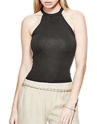 Guess Lori Halter Top Black