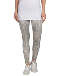 Maison About Trousers Leggings Women Light Grey