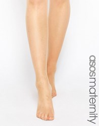 Asos Maternity 15 Denier Tights In Sun Tan Beige
