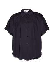 Stella Mccartney Toby Embrodiered Panel Shirt