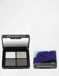 Japonesque Velvet Touch Eye Shadow Palettes Shade 1 Multi