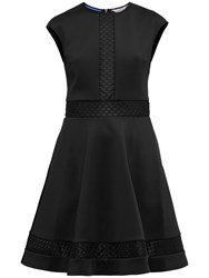 Ted Baker Glorry Mesh Detail Full Skirt Dress Black