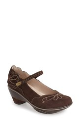 Jambu Women's 'Bombay' Pump Dark Brown Leather