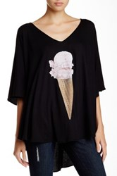 Wildfox Couture Breakfast Tahiti Tunic Black