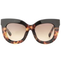 Erdem Cat Eye Sunglasses Brown