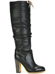 See By Chloe 'Jona' Slouchy Knee Boots Black