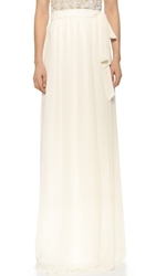 Joanna August Whitney Wrap Maxi Skirt Going To The Chapel