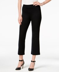 Styleandco. Style Co. Pull On Cropped Pants Only At Macy's Deep Black