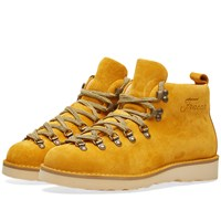 Fracap M120 Natural Vibram Sole Scarponcino Boot Yellow