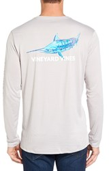 Vineyard Vines Men's Marlin Long Sleeve Performance T Shirt