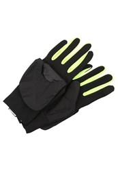 Nike Performance Vapor 2.0 Gloves Black Volt Silver Anthracite