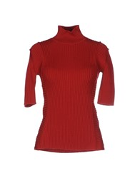 Plein Sud Jeanius Knitwear Turtlenecks Women Red