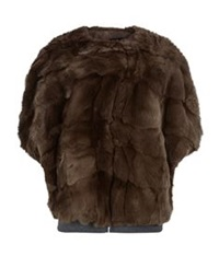 Maxmara Weekend Uvetta Fur Jacket Brown