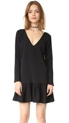 Amanda Uprichard Carrie Dress Black