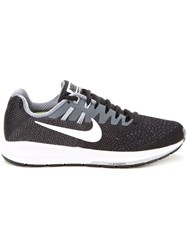 Nike 'Air Zoom Structure 20 Running' Sneakers Black