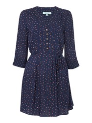 Dickins And Jones Tabetha Tunic Top Navy
