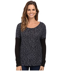 Sanctuary Autumn Tunic Indigo Onyx Women's Clothing Black