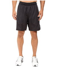 Puma Reps Woven 2 In 1 Shorts Asphalt Safety Yellow Men's Shorts Black