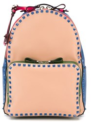 Valentino Garavani 'Rockstud' Backpack Multicolour