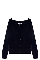Paul And Joe Richelieu Cardigan Navy