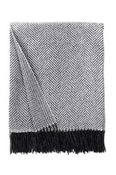Amicale Herringbone Throw Gray