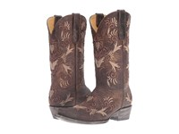 Old Gringo Karime Chocolate Tan Cowboy Boots Brown