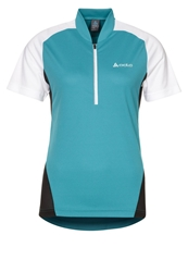 Odlo Action Sports Shirt Capri Breeze White Black Turquoise