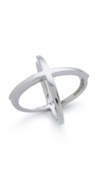 Elizabeth And James Windrose Ring Silver