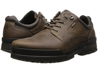 Ecco Track 6 Gtx Plain Toe Tie Navajo Brown Dark Clay Men's Lace Up Casual Shoes
