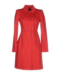Byblos Coats And Jackets Full Length Jackets Women Red