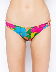 Huit Summer Love Low Waist Bikini Bottom Sunlightprint