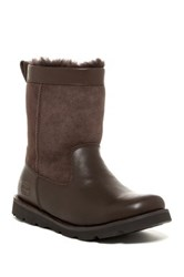Ugg Wrangell Genuine Sheepskin Lined Lug Sole Boot Brown