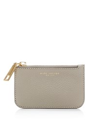 Marc Jacobs Gotham City Key Pouch Pebble Gray Gold