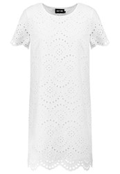 Only Onlsisse Anglaise Summer Dress Cloud Dancer Off White
