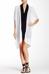 Riller And Fount Emilio Cocoon Cardigan White
