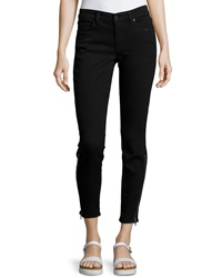 Cj By Cookie Johnson Dream Ankle Zip Slim Leg Pants Black